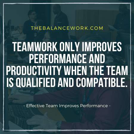 Effective Team Improves Performance