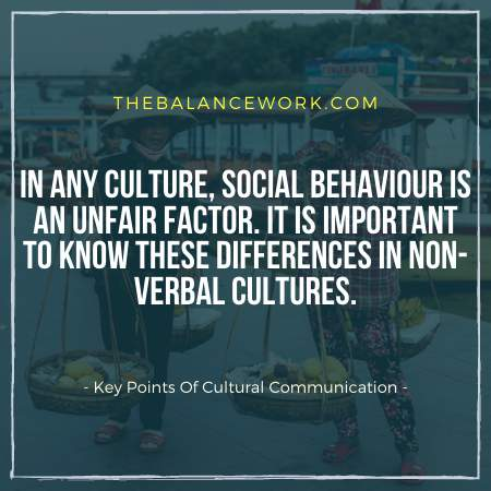 Key Points Of Cultural Communication