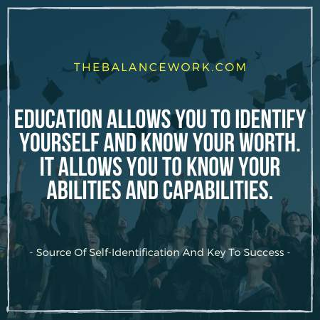 Source Of Self-Identification And Key To Success