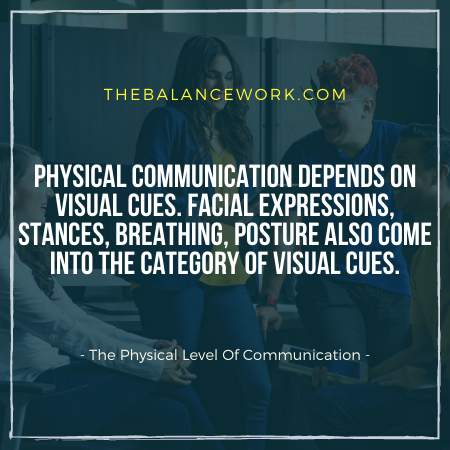 The Physical Level Of Communication
