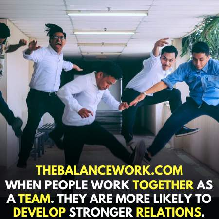 Working together lift up business
