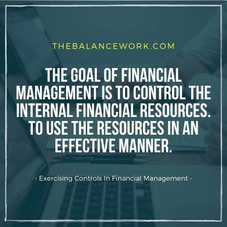 Exercising Controls In Financial Management
