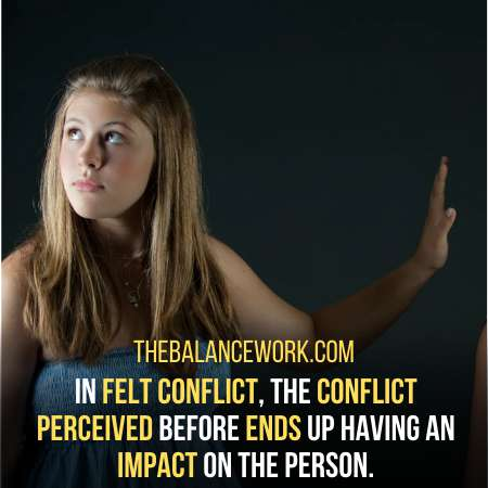 Felt Conflict Is Third In Stages Of Conflict