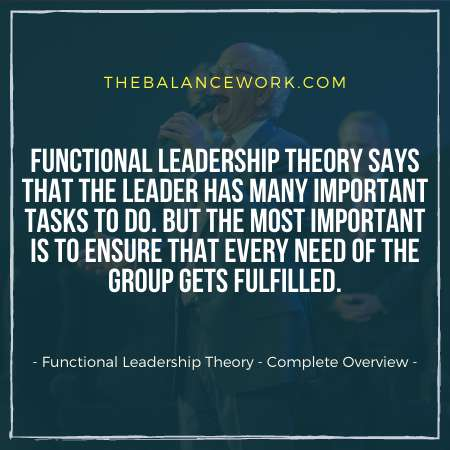 Functional Leadership Theory - Complete Overview