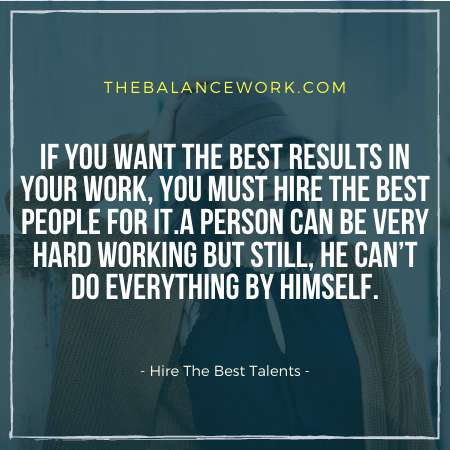 Hire The Best Talents