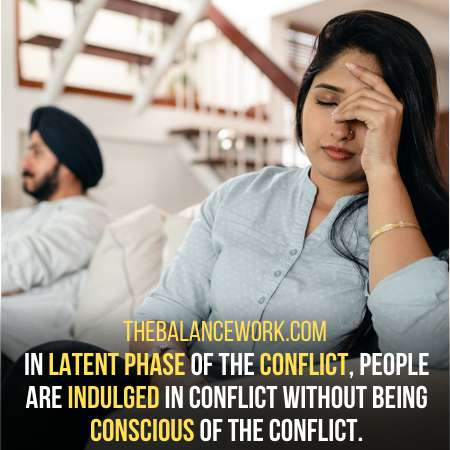 Latent Conflict Is First In Stages Of Conflict