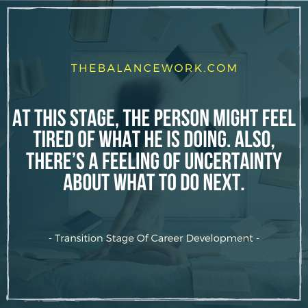Transition Stage Of Career Development