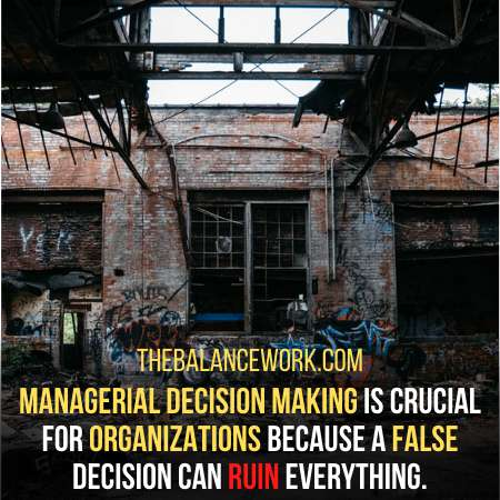 Why Managerial Decision Making Is So Important