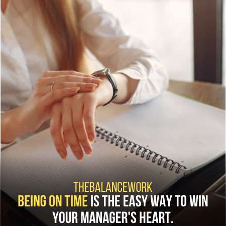 Punctuality Is The Key To Win A Job