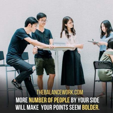 Bring Your Key Companies At Work To Bolster your Side Of Reasoning