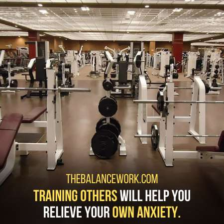 You Can Choose To Be A Fitness Trainer To Release Anxiety