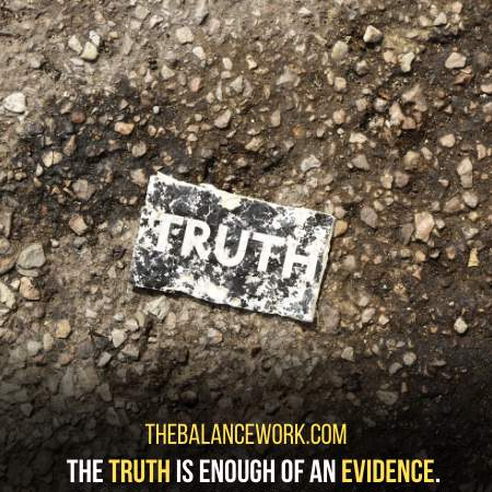 Hold Onto Your Truth By The End Of Your Whole Argument
