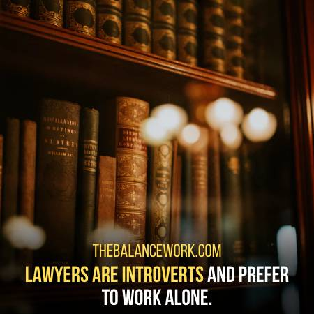 Lawyers Are For Sure Introverts