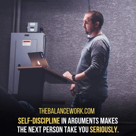 Keep Your Discipline Intact While Replying To All The False Accusation On You