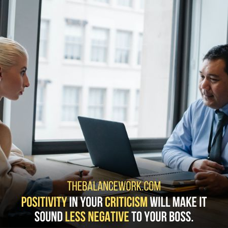 Bringing Positivity In Your Criticism