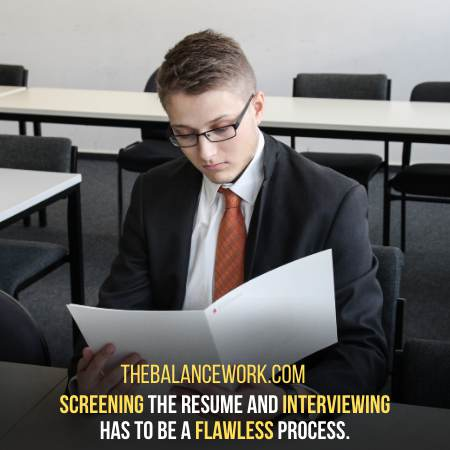 Screening And Interview - The Final Step