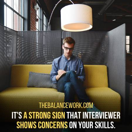 You Didnt Get The Job If Employer Shows Concerns On Your Skills