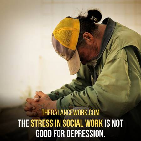 Social Work Is Not Among The Jobs For People With Depression