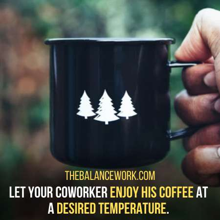 Give A Temperature Control Mug To Let Him Enjoy His Coffee