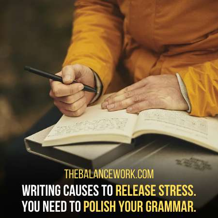 Writing Helps To Lessen The Anxiety