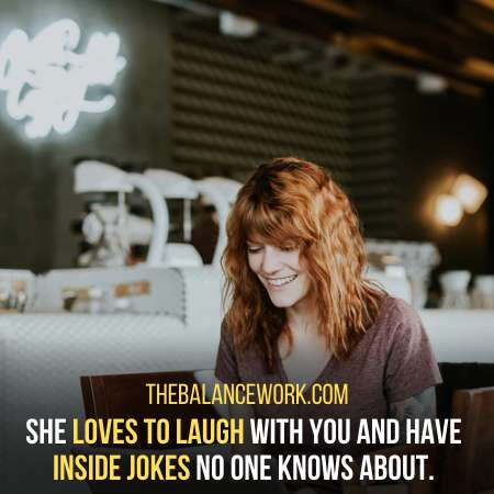 She Loves To Laugh With You Is A Sign She Likes You