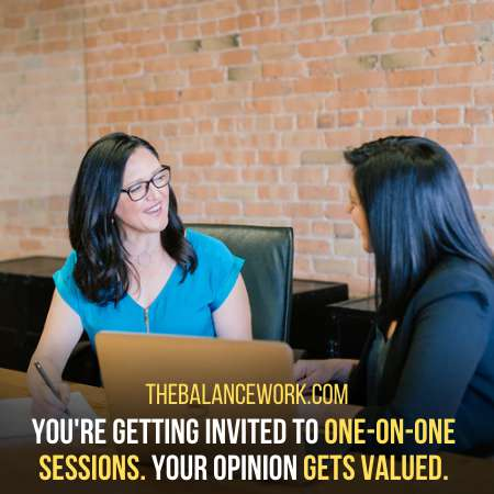 The Boss Meets You In Person To Share Feedback