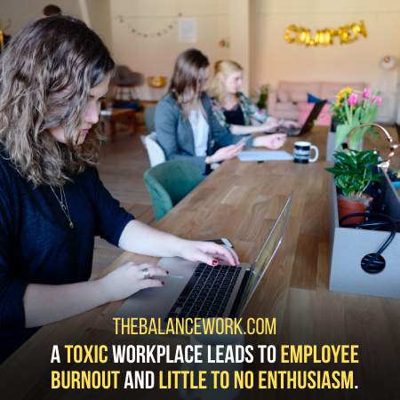 Your Coworker Creates A Toxic Environment When Around You