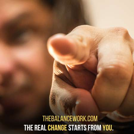 A Change Does Not Start Until You Decide To Make It Happen