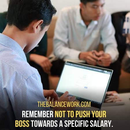 Do Not Make Threat To Increase Your Salary