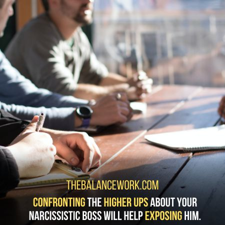 Confront The Higher Ups