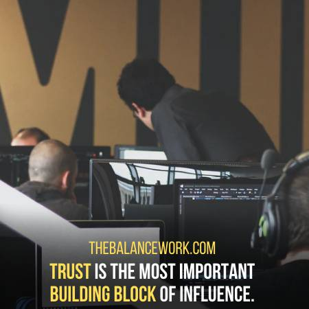 Influence Others By Developing Trust