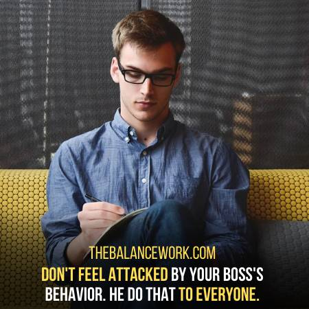 How To Deal With A Nitpicking Boss
