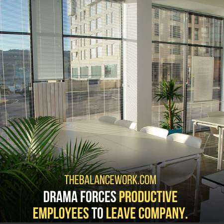 People Start To Leave Company If There Is Drama