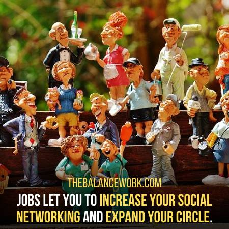 Your Social Circle Expands With Each Job