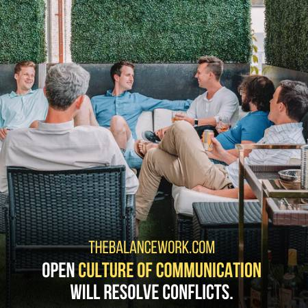 Open Communication Encourages People To Resolve Conflicts