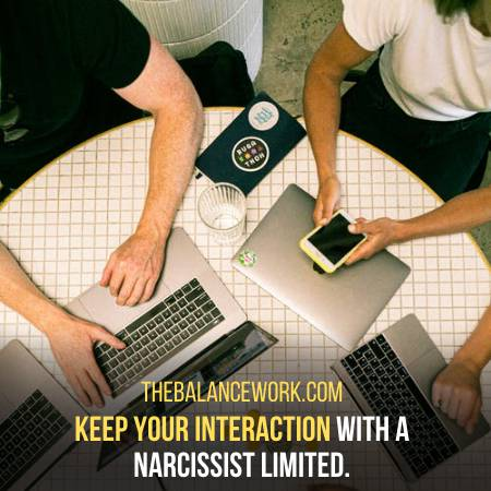 Avoid Close Relations With Narcissists