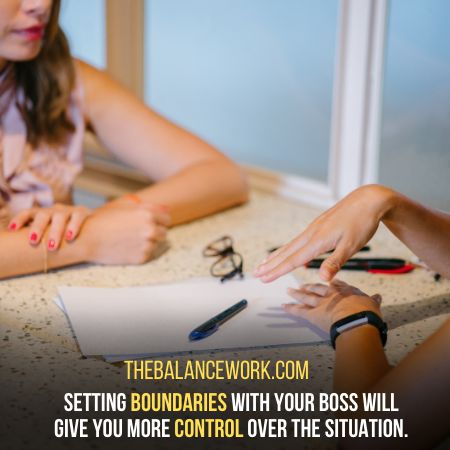 Set Your Boundaries With Your Boss