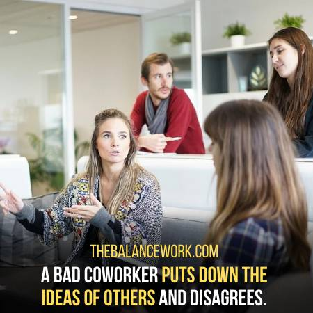 Signs Of A Bad Coworker