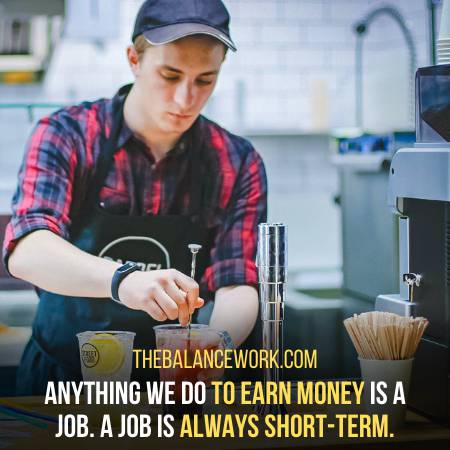 A Job Itself Defines The Difference Between A Job And A Career