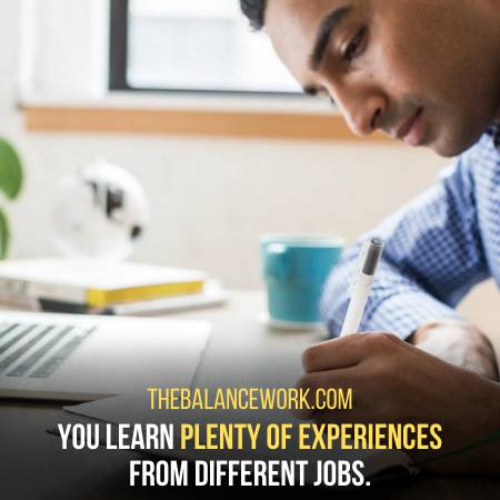 Jobs Help You Gain Different Kinds Of Experiences