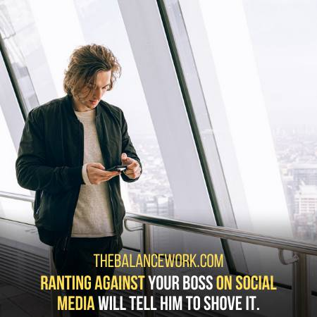 Ranting Against Your Employer Is Not A Good Option