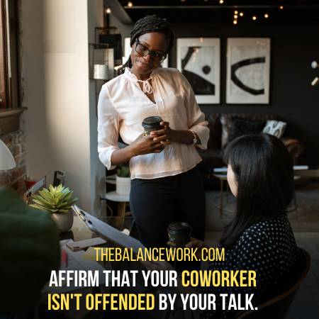 Check If Your Coworker Got Offended