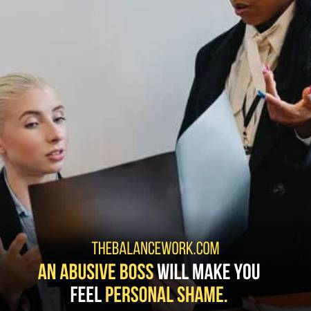 Abusive Boss Acts Disgustingly