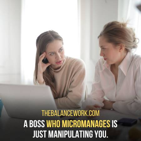 Manipulators Are Always Micromanagers