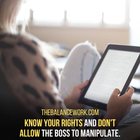 How To Deal With A Manipulative Boss
