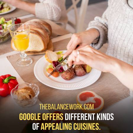Google Is No Doubt Best Because It Gives Food