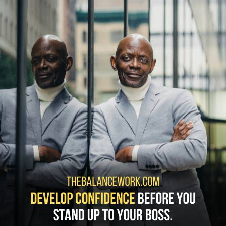 Develop Confidence Before Meeting Your Boss
