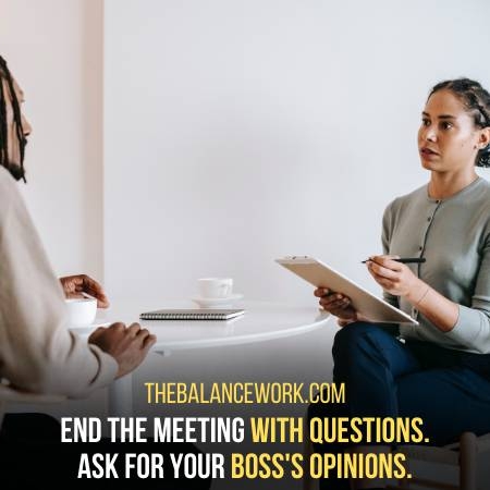 Ask Questions To Know The Opinion Of Your Boss