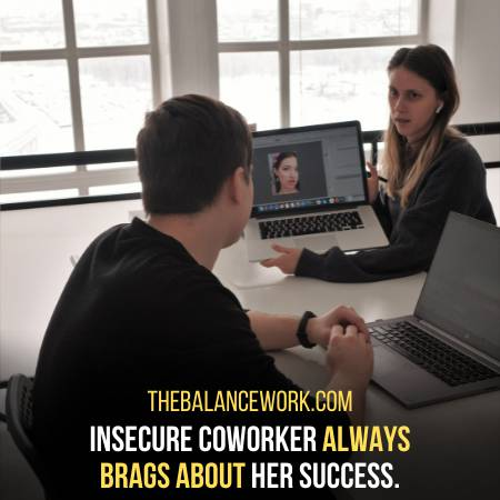 Signs Of Insecure Coworkers