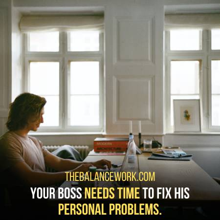 The Boss Wants To Be Stress Free At Home